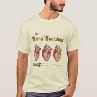 The Long Holidays: Heart Container Shirt