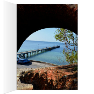 The_Long_Pier_View,_Birthday_Greeting_Card. Card