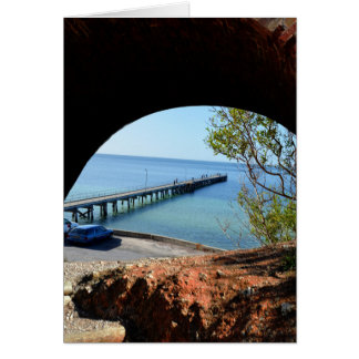 The_Long_Pier_View,_Small_Birthday_Greeting_Card. Card