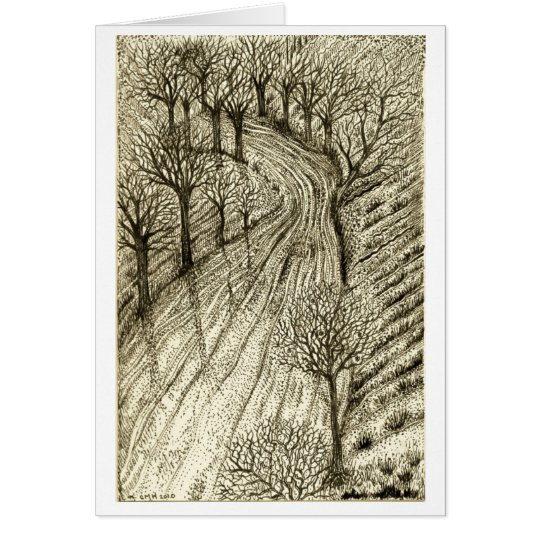The Long Winding Road Card