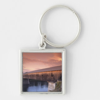 The longest covered bridge in the United States Key Chains