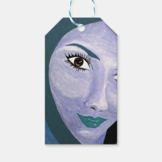THE LOOK ( blue ) Gift Tags