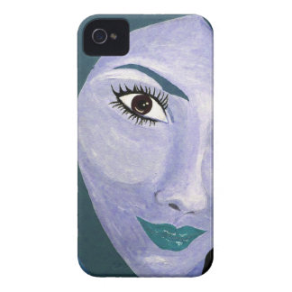 THE LOOK ( blue ) iPhone 4 Case-Mate Case