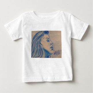 The Look Blue Series by Michael David Baby T-Shirt
