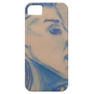 The Look Blue Series by Michael David iPhone 5 Cases
