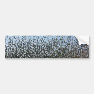The Look of Architectural Textured Glass Bumper Sticker