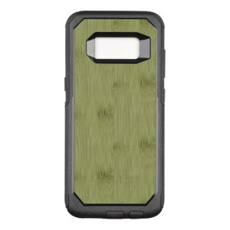 The Look of Bamboo in Olive Moss Green Wood Grain OtterBox Commuter Samsung Galaxy S8 Case