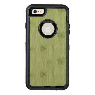 The Look of Bamboo in Olive Moss Green Wood Grain OtterBox iPhone 6/6s Plus Case
