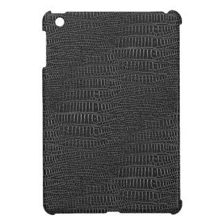 The Look of Black Realistic Alligator Skin iPad Mini Cases