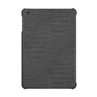The Look of Black Realistic Alligator Skin iPad Mini Retina Cases