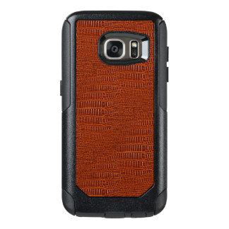 The Look of Brown Realistic Alligator Skin OtterBox Samsung Galaxy S7 Case