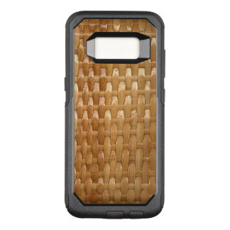 The Look of Lacquer Wicker Basketweave Texture OtterBox Commuter Samsung Galaxy S8 Case