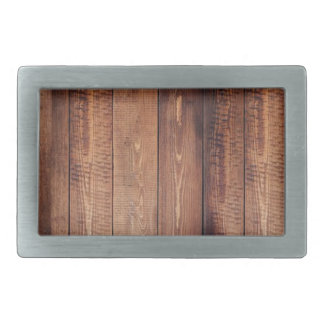 The look of real wood! rectangular belt buckles