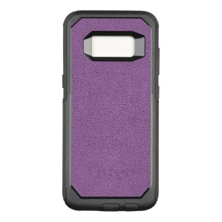 The look of Snuggly French Lilac Lavender Suede OtterBox Commuter Samsung Galaxy S8 Case