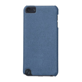 The look of Snuggly Slate Blue Suede Texture iPod Touch 5G Case