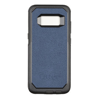 The look of Snuggly Slate Blue Suede Texture OtterBox Commuter Samsung Galaxy S8 Case