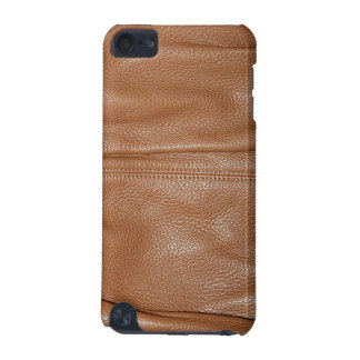 The Look of Soft Supple Brown Leather Grain iPod Touch (5th Generation) Covers