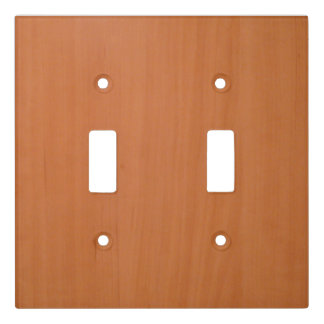 The look of wood light switch cover