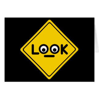 The LOOK traffic sign Card