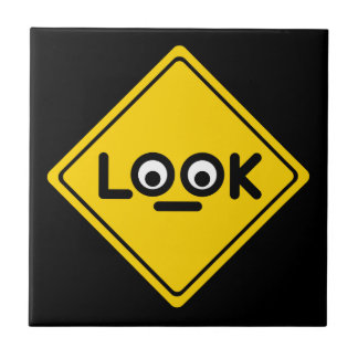 The LOOK traffic sign Tile