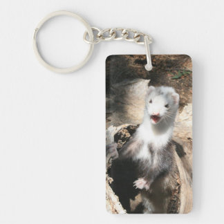 The Lookout Add Photo Acrylic Keychain