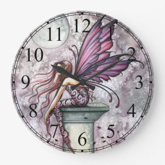 The Lookout Fairy Fantasy Art Wall Clock