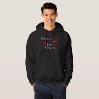 The looks to stop a heart nursing hoodie