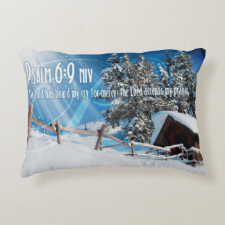 The Lord Accepts My Prayers Accent Pillow
