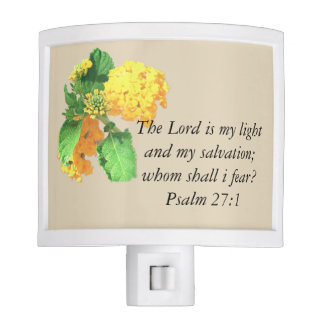 The Lord Is My Light Nite Lite