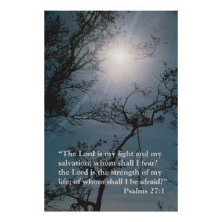 The Lord is my light Poster