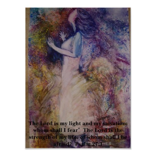 """""""The Lord Is My Light"""" Poster"""