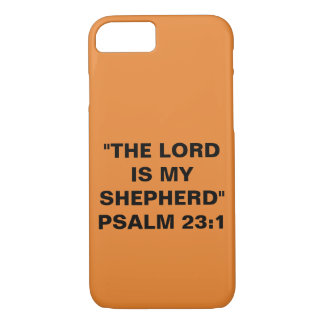 """""""The Lord Is My Shepherd"""" Apple iPhone 8/7 Case"""
