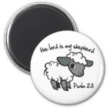 The Lord is my Shepherd Magnets
