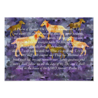The Lord is My Shepherd Print
