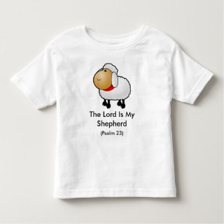 The lord Is My Shepherd (Psalm 23) Toddler T-shirt