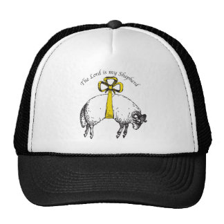 The LORD is my shepherd Psalm 23 Trucker Hat