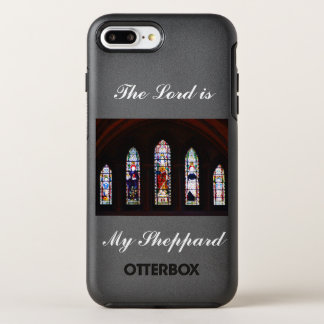 The Lord is My Sheppard Stained Glass Phone Case