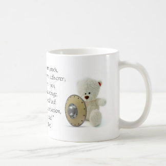 The LORD Is My Shield Teddy Bear Mug