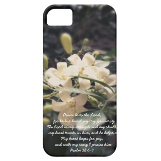 The Lord is my Strength & Shield - Jasmine iPhone iPhone 5 Case