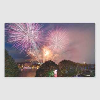 The Lord Mayor's Fireworks, Southbank London Sticker