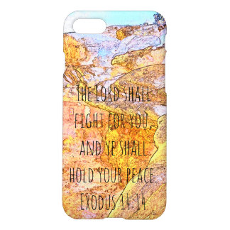 The Lord Shall Fight For You iPhone 7 Case