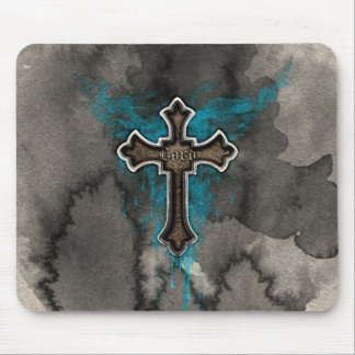 The Lord's Cross Mouse Pad