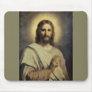 The Lord's Image - Heinrich Hofmann Mouse Pad