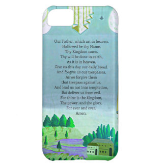 The Lord's Prayer Christian themed art iPhone 5C Cover