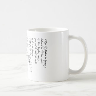 The Lord's Prayer Cup