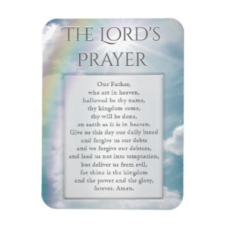 The Lord's Prayer Magnet