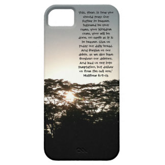 The Lord's Prayer Phone Casing iPhone 5 Case