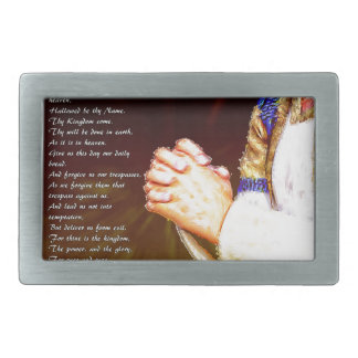 The Lords Praying Hands Belt Buckles