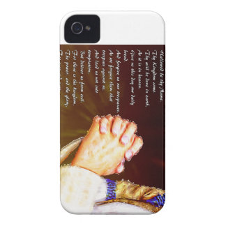 The Lords Praying Hands iPhone 4 Cases