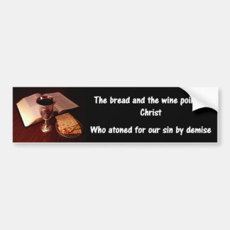 The Lord's Supper Bumper Sticker